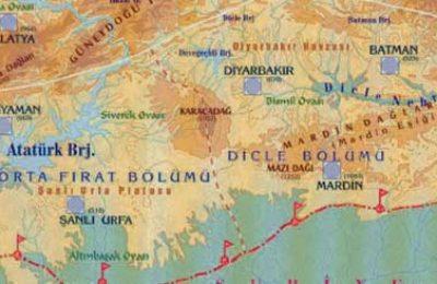 Nemrut, Hatay, Mardin, Diyarbakır, Şanlıurfa, Diyarbakır, Gaziantep